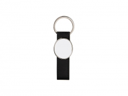 Strip PU Key Chain(Oval)