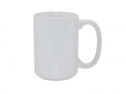 15oz White Photo Mug (J·S)