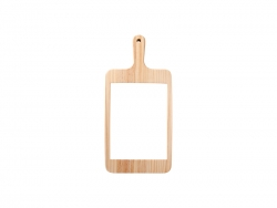 Square Cheese Board w/ Ceramic Tile(18*38cm)