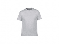Cotton T-Shirt-Grey