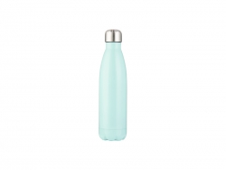 17oz/500ml Stainless Steel Cola Bottle (Mint green)