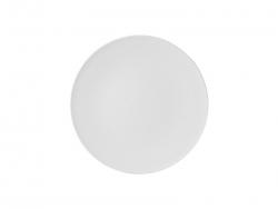 8 in. White Plastic Plate
