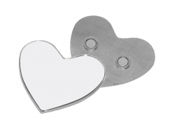 Heart Shape Metal Fridge Magnet (Φ6cm)
