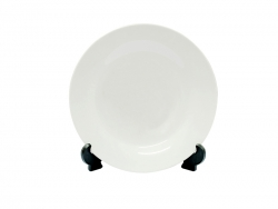 "7.5"" White Plate"