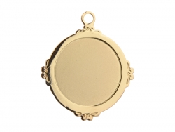 Gold Necklace (Round)