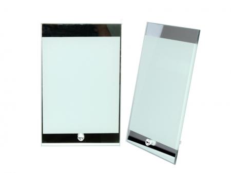 Marco cristal 03 con borde de espejo best sublimation for Espejo con borde biselado