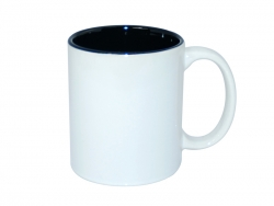 11oz Two-Tone Color Mugs - Black
