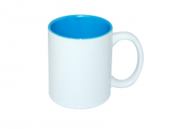 11oz Two-Tone Color Mugs - Light Blue