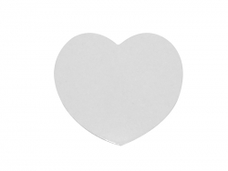 Sublimation Fridge Magnet-Heart (5.5*5cm)