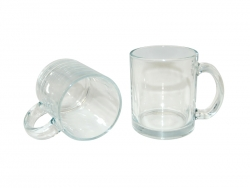 Glass Mugs (Clear)