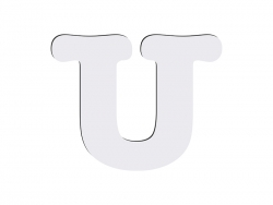 Sublimation HB Letters -U (10*10cm)