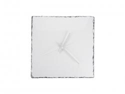 Square Slate Clock (27*27cm)