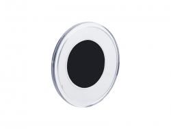 Acrylic Magnetic Back Photo Frame (Round,Φ6.5cm)