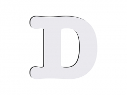 Sublimation HB Letters -D (10*10cm)