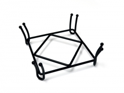 Wrought Iron Coaster Holders