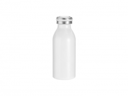 12oz/350ml Stainless Steel Milk Bottle (White)