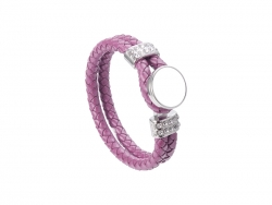 Fashion Noosa Bracelet (08, Purple Red)