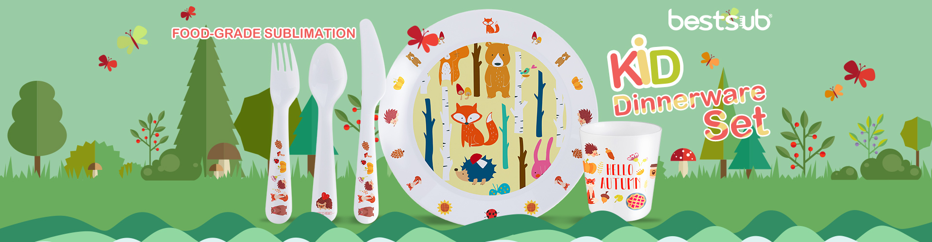 2018-12-11_Food_grade_Sublimation_Kid_Dinnerware_Set
