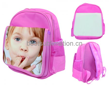 Pink Kids School Bag