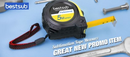 Sublimation Tape Measure—Great New Promo Item