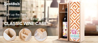 Light up the Party with BestSub's Classic Wine Case