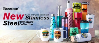Come and Check BestSub's New Stainless Steel Drinkware Collection