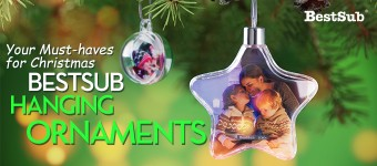 Your Must-haves for Christmas—BestSub Hanging Ornaments