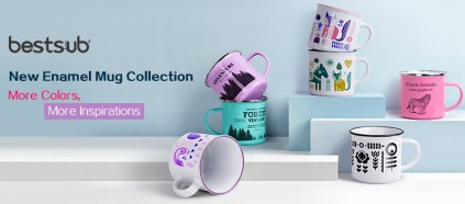 Hurry! BestSub New Color Enamel Mugs Await.