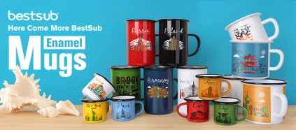 Here Come More BestSub Enamel Mugs!