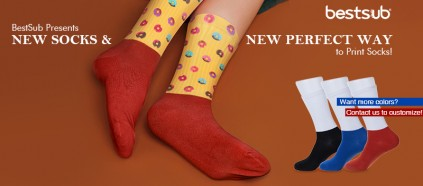 BestSub Presents New Socks & New Perfect Way to Print Socks!