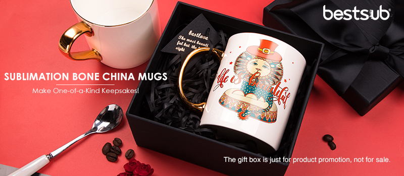 A Real Gold Bone China Mug for Sublimation? Yes! - BestSub