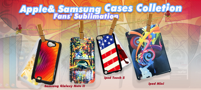Exquisite Cases for iPod Touch 5, iPad mini &Samsung Galaxy Note 2 N7100 from BestSub