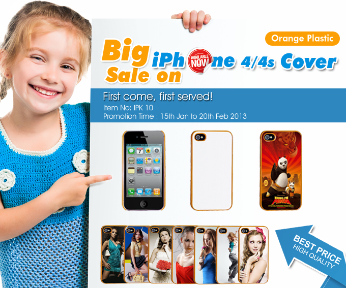 Unprecedented 50% Discount on iPhone 4 Cover