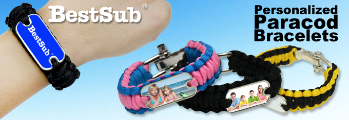 Make Personalized Paracord Bracelets From Bestsub