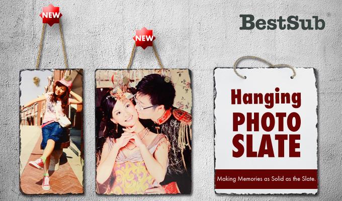 Rectangular Hanging Photo Slate