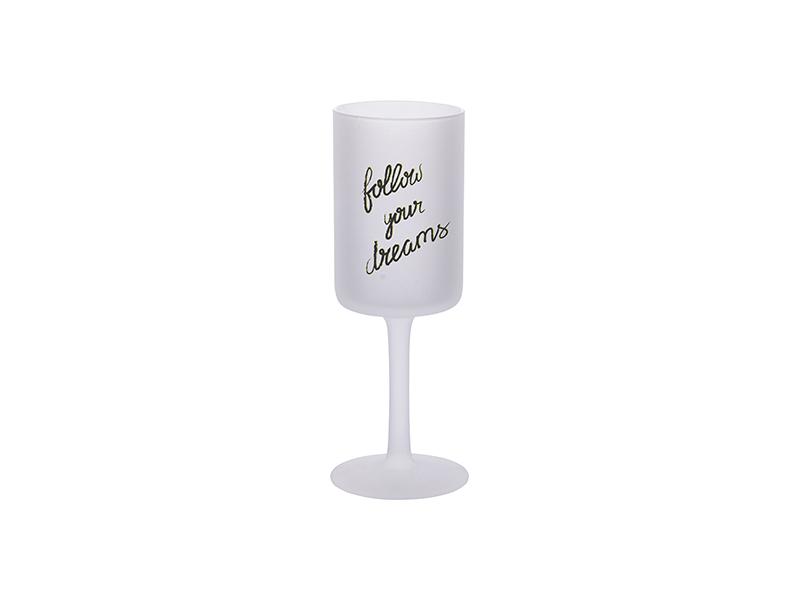 275ml Red Wine Glass Goblet Bestsub Sublimation Blanks