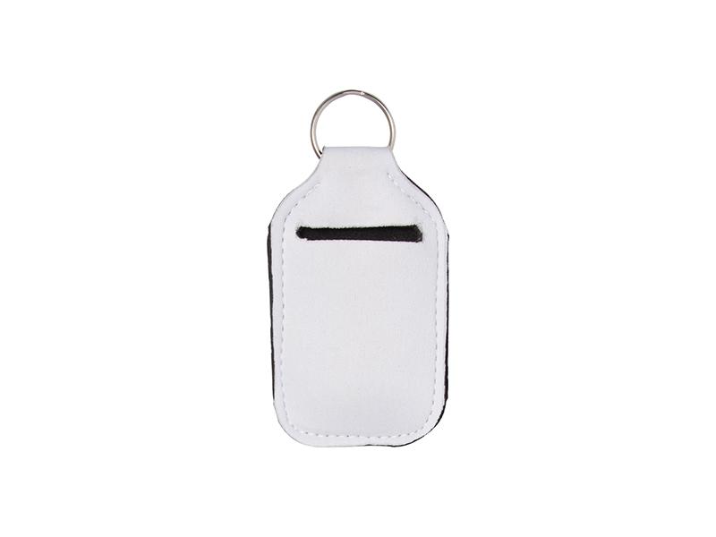 No Bottles Vinyl Blanks Black Sanitizer Holder HTV Blanks Blank Sanitizer Holder Neoprene Sanitizer Holder Set of 10 Holders