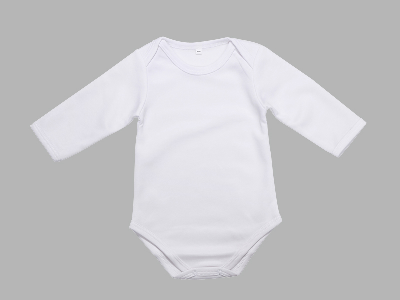 Baby Onesie Long Sleeve Bestsub Sublimation Blanks