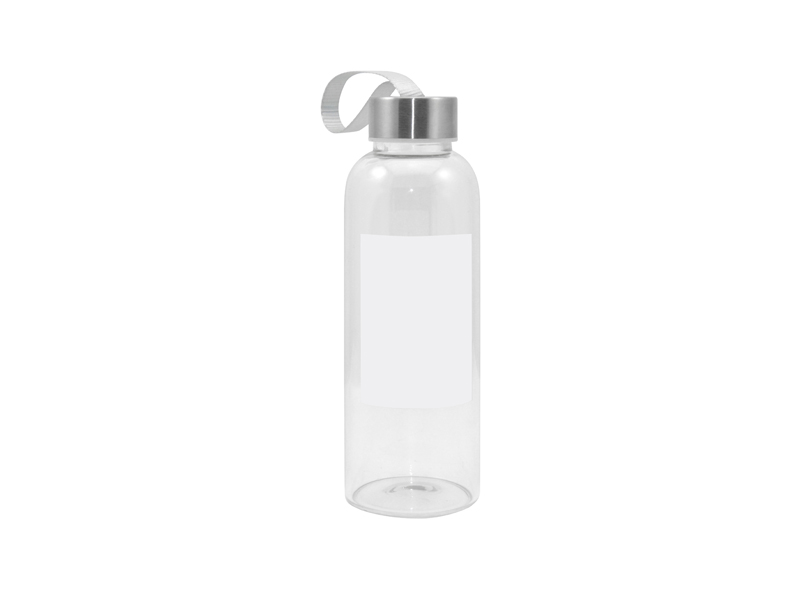 420ml Glass Bottle With Square White Patch Bestsub