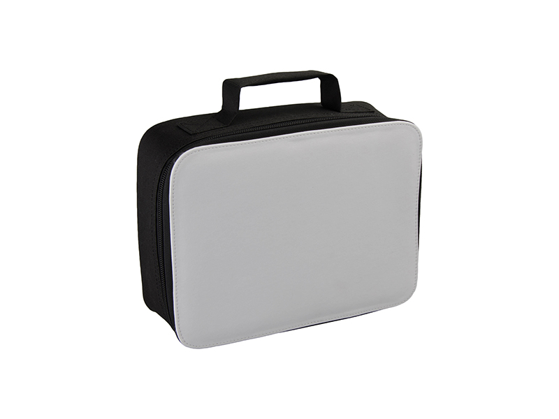 Insulated Lunch Bag Black Bestsub Sublimation Blanks