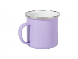 12oz/360ml Colored Enamel Mug (Lavender)