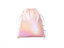 Gradient Drawstring Backpack (Pink,33*40cm)