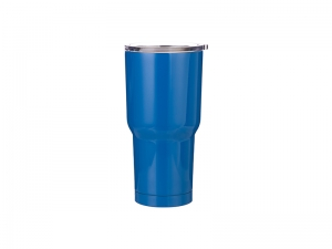 30oz Stainless Steel Tumbler (Royal Blue)