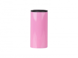 12oz/350ml Stainless Steel Skinny Can Cooler(Pink)