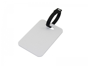 Sublimation Flocking Luggage Tag