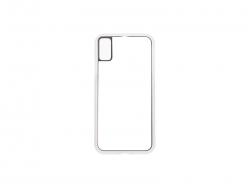 iPhone X Cover (Rubber, Clear)