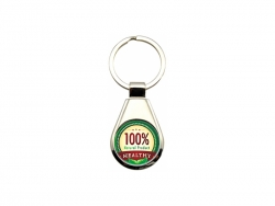 UV Printing Metal Key Chain(Round)