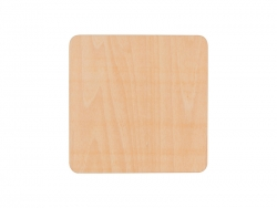 Sublimation Square Plywood Coaster (9.5*9.5cm)