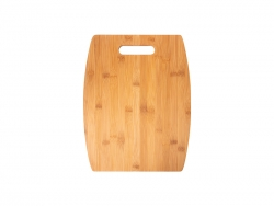 Arc Shaped Bamboo Cutting Board (38*30*1.1cm)   MOQ:1000pcs
