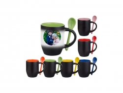 11oz Changing Color Spoon Mug